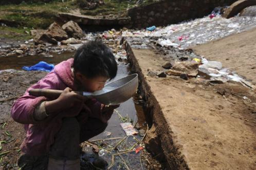 如果有一天,你发现人类再也没有干净水源了……